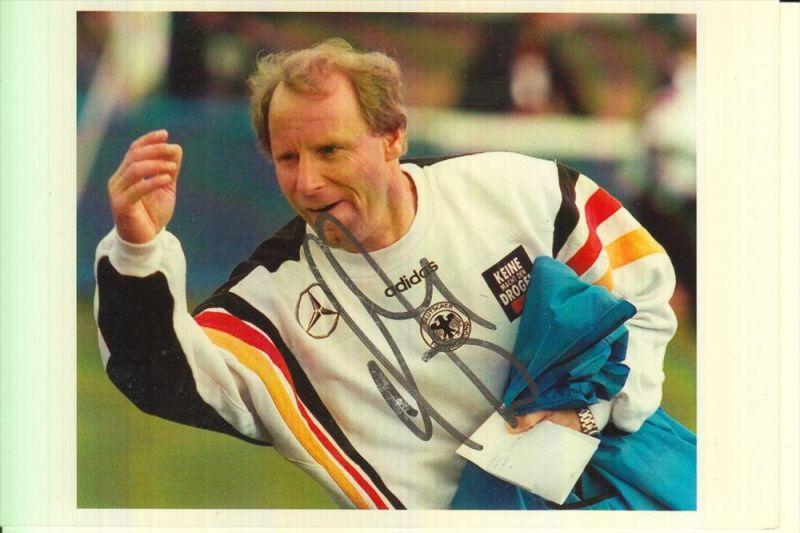 SPORT - FUSSBALL - BERTI VOGTS - Nationaltrainer Deutschland