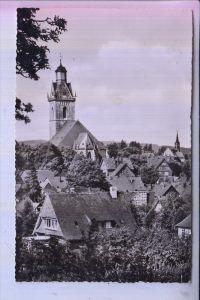 3540 KORBACH, St.Kilianskirche, 1955, Landpoststempel