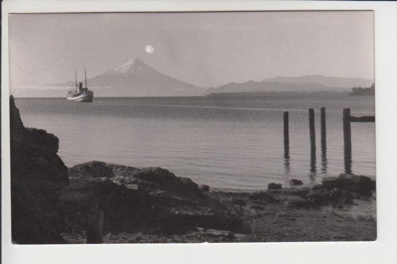 CHILE - Volcan Osceno con Lago Llanquihue