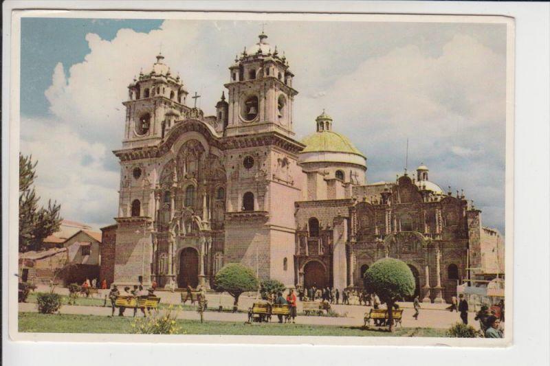 PERU - CUZCO, Iglesia, 1961