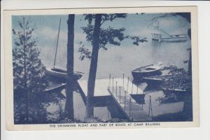 USA - VERMONT, Lake Ely, Camp Billings, YMCA Summer Institution