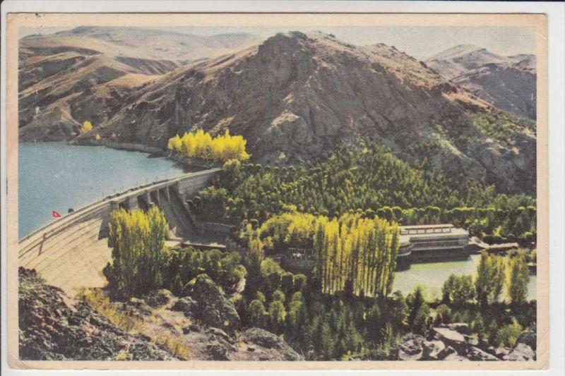 TR - ANKARA, Cubuk Baraji / Tchubuk Dam, 1957