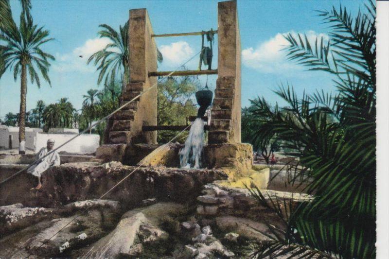 LIBYEN, Pozzo Arabo - Brunnen / Fountain / Source / Fontana / Fontein / Fuente