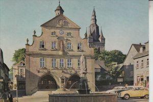 5790 BRILON, Marktplatz & Rathaus & Pfarrkirche, Auto- Auto-Union