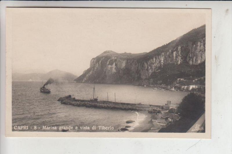 I 80073 CAPRI, Marina grande e vista di Tiberio