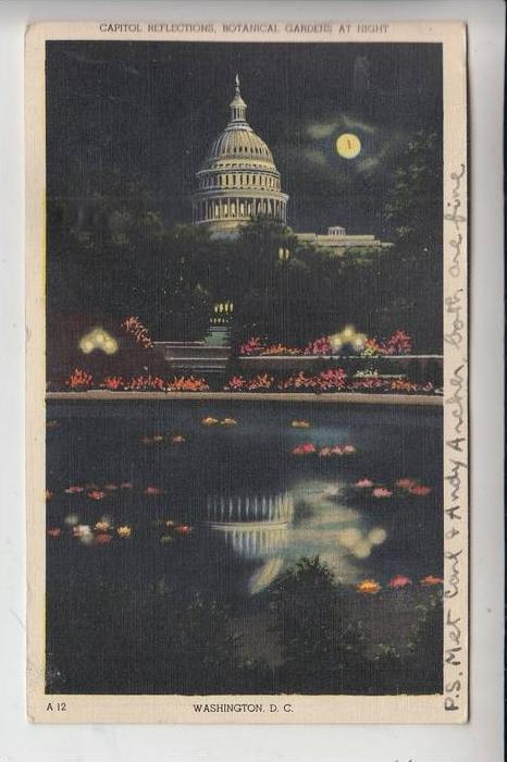 USA - WASHINGTON D.C., Capitol Reflections 1944