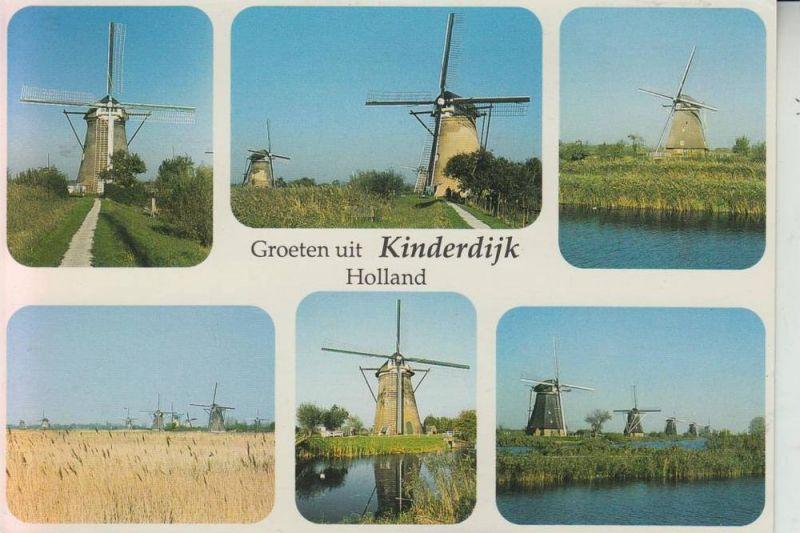 MÜHLE - WINDMÜHLE - Molen, Kinderdijk / NL