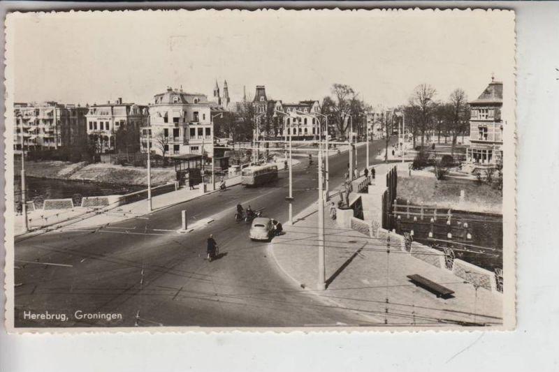 NL - GRONINGEN STAD, Herebrug 1959