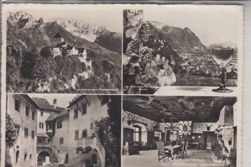 FL - LIECHTENSTEIN, VADUZ, Mehrbildkarte
