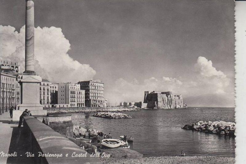 I 80100 NAPOLI, Via Partenope e Castel dell'Oro 1951