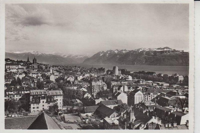 CH 1000 LAUSANNE VD, Ortsansicht 1938