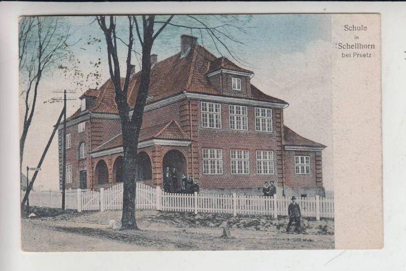 2308 PREETZ - SCHELLHORN, Schule 1921 0