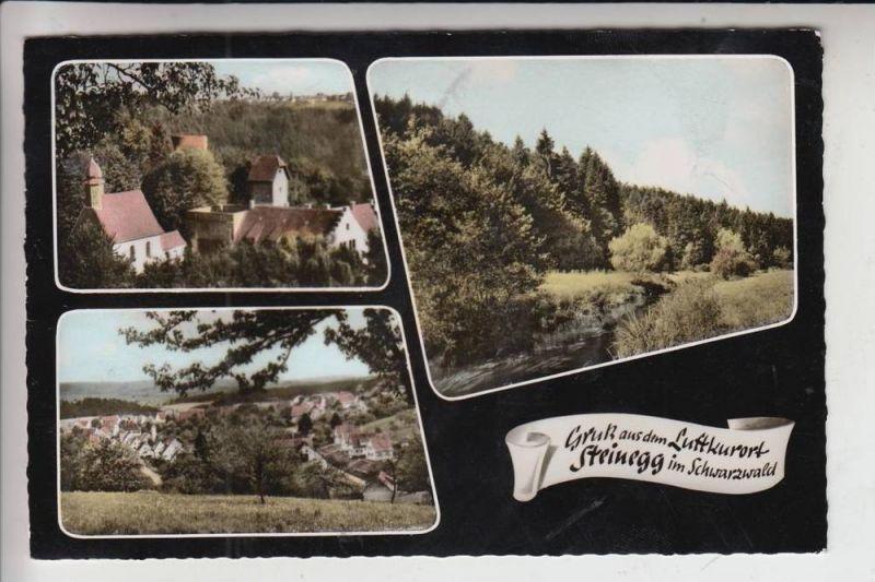 7531 STEINEGG, Schloss-Cafe 1963 0