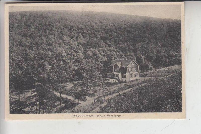 5820 GEVELSBERG, Neue Försterei 1913 0