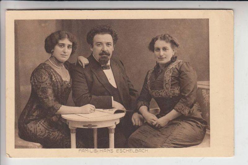 5300 BONN, Hans Eschelbach & Familie, Schriftsteller, geboren 1868 in Bonn 0