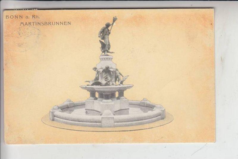 5300 BONN, Martinsbrunnen 1909 0