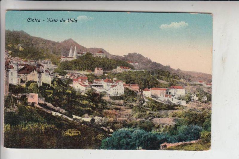 P 2714 SINTRA / CINTRA, Vista da Villa 0