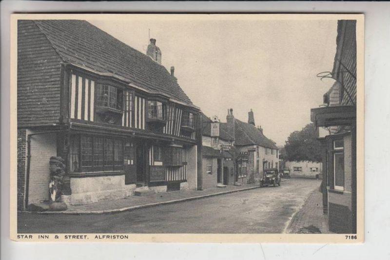 UK - ENGLAND - SUSSEX EAST - ALFRISTON, Star Inn & Street 0