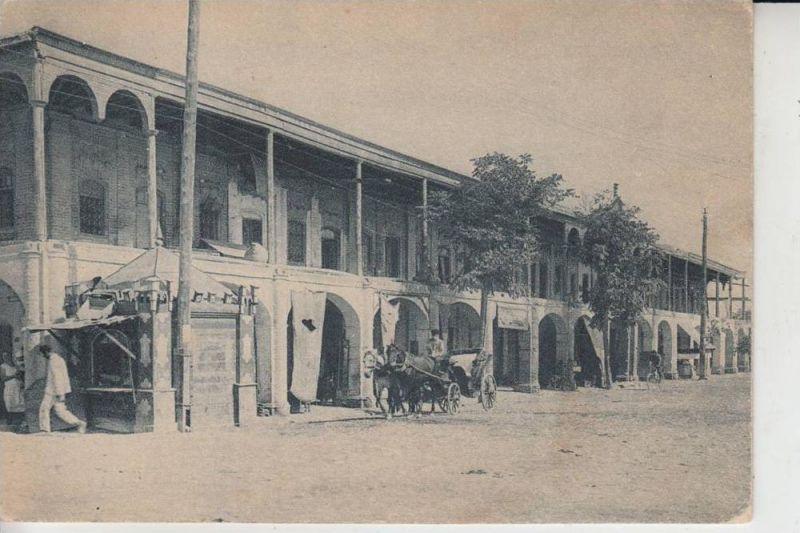 TURKMENISTAN - ASCHABAD / ASGABAT - Caravanserail sur le bazar