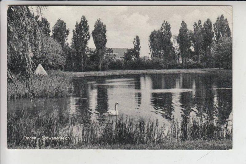 2970 EMDEN, Schwanenteich 1955 0