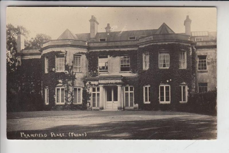 UK - ENGLAND - SUSSEX EAST - UCKFIELD, Framfield Place, Front 0