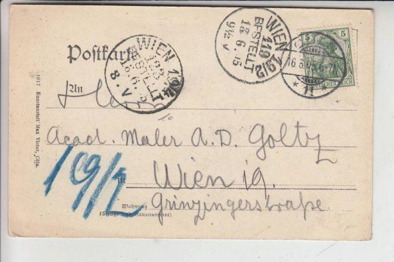 5000 KÖLN, Neues Stadttheater 1905, gelaufen nach Wien 1