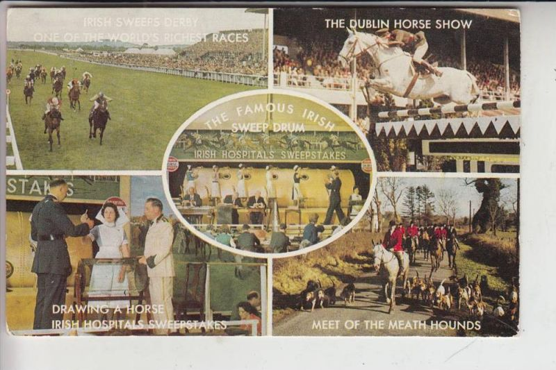 IRL - DUBLIN, Horse Events, 50ies