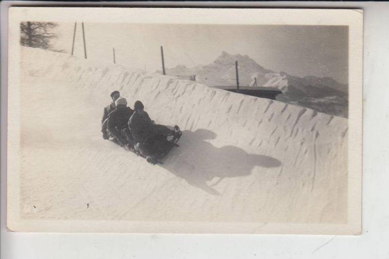CH 1884 VILLARS SUR OLLON, 1927, BOBSPORT 0