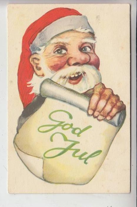 WEIHNACHTEN - SANTA CLAUS, NIKOLAUS, Weihnachtsmann - GOD JUL 0