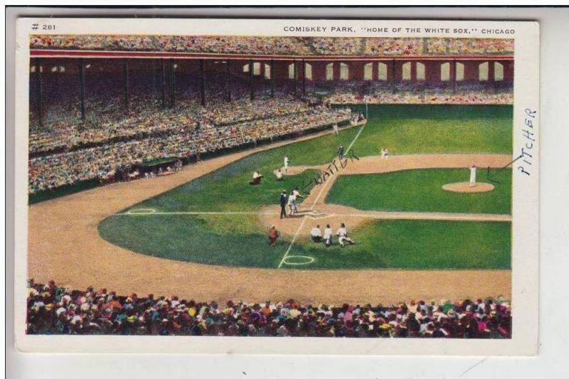 SPORT - BASEBALL, Comiskey Park Chicago, Home of the White Socks 0