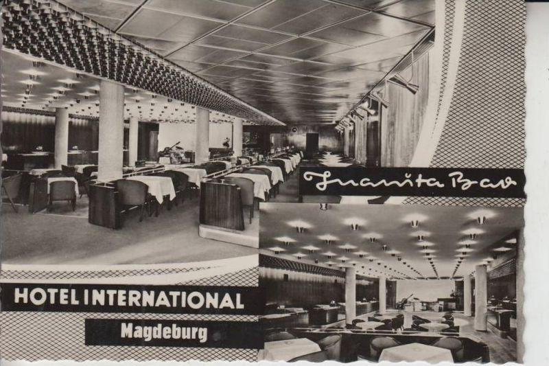 0-3000 MAGDEBURG, Hotel Internationl / Juanita Bar 0