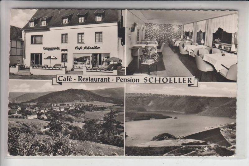 5169 HEIMBACH - HASENFELD, Cafe - Restaurant Schoeller, Kl. Klebereste rückseitig 0