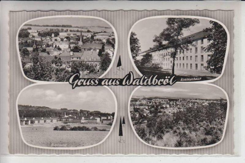 5220 WALDBRÖL, Mehrbildkarte, 1960 0