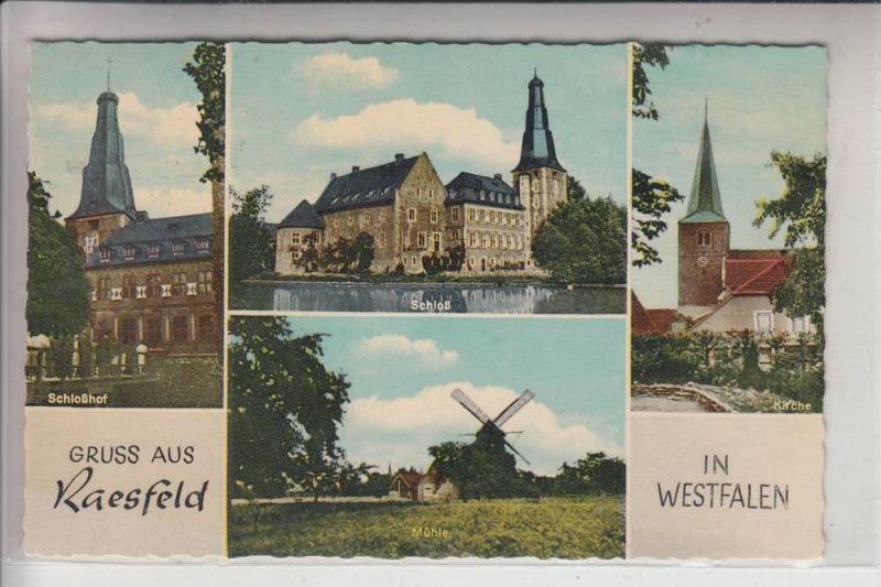 4285 RAESFELD, Windmühle, Schloß, Kirche 0