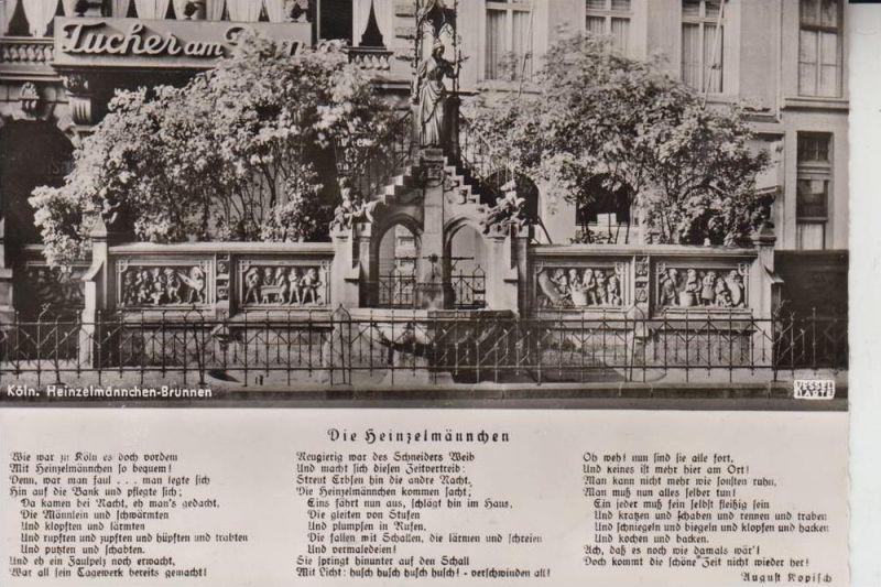 5000 KÖLN, Heinzelmännchen Brunnen 1960 0