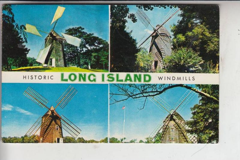 MÜHLE - Molen - mill, Windmühle Historic Long Island Windmills 0
