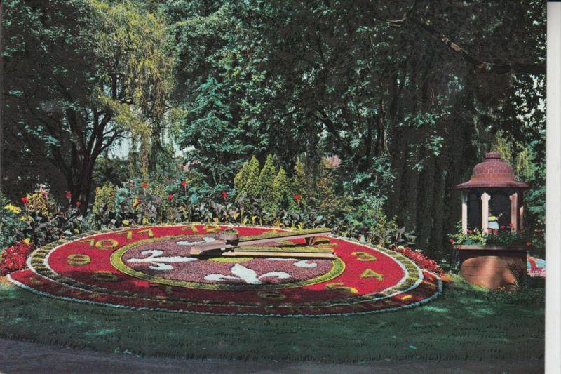 L 4500 DIFFERDINGEN / DIFFERDANGE, Blumenuhr/Horloge fleurie/Bloem klok, Parc de Gerlache 0