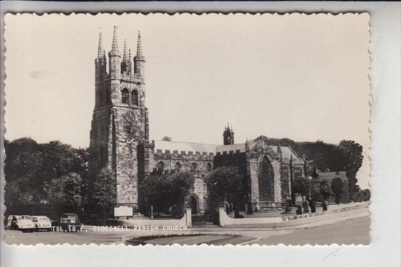 UK - ENGLAND - DERBYSHIRE - TIDESWELL, Parish Church