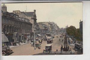 UK - SCOTLAND - MIDLOTHIAN - EDINBURGH, Princess Street / Valentine Colourtone