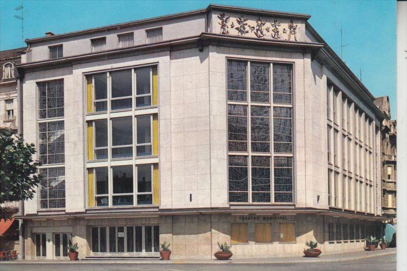 L 4000 ESCH - SUR - ALZETTE, Le Theatre Municipal, Kraus-Lux. 0