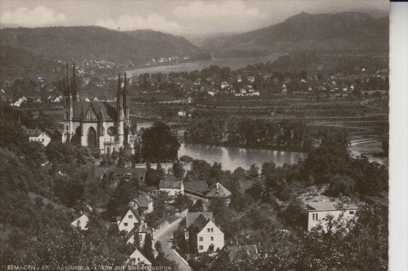 5480 REMAGEN, Apollinaris-Kirche, Ende 50er-Jahre 0