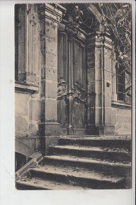 6420 LAUTERBACH, Alte Haustüren in Lauterbach, Nr.20, Eisenbachertor 1