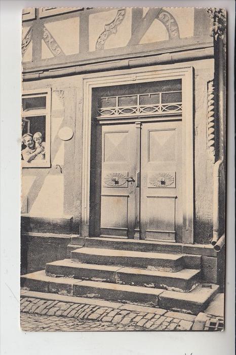 6420 LAUTERBACH, Alte Haustüren in Lauterbach, Nr.8, Eisenbachertor 5 0