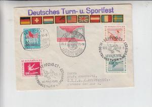 SPORT - LEICHTATHLETIK - Sonderstempel 1959 Deutsches Turnfest, Leipzig