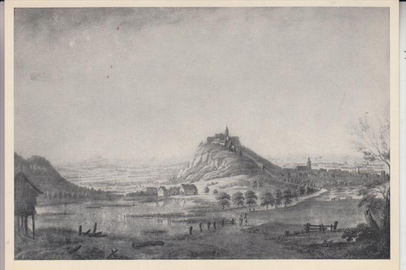 5200 SIEGBURG, Historische Ansicht von Nordosten, nach Bleuler 1800