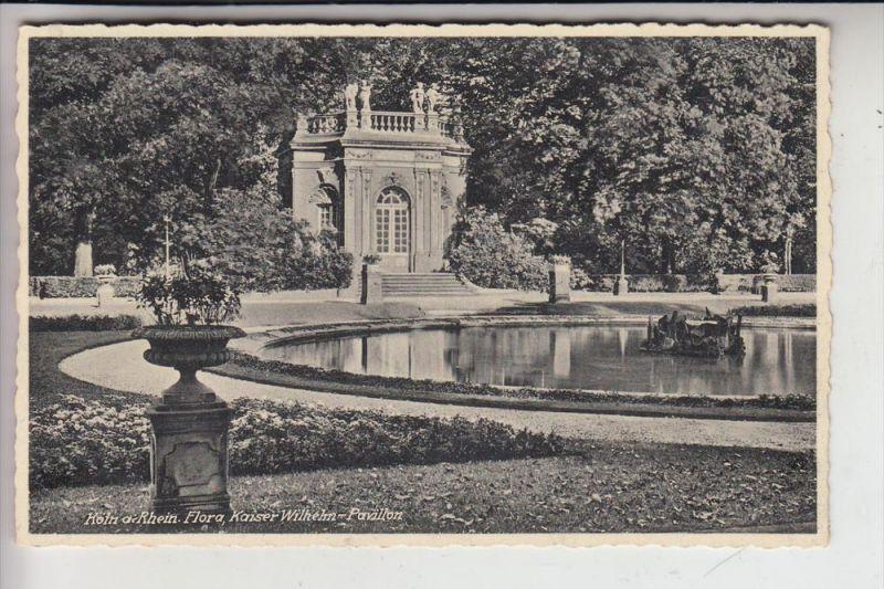 5000 KÖLN, FLORA, Kaiser-Wilhelm-Pavillon 0