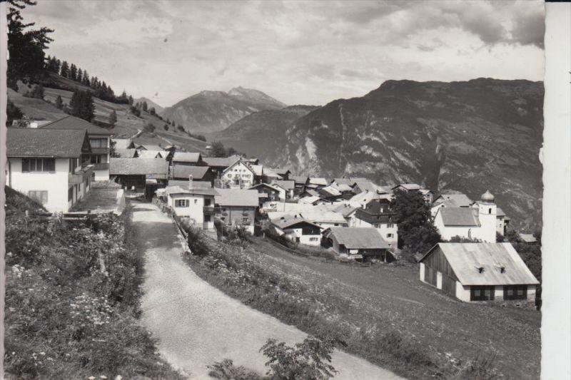 CH 7424 PRÄZ, Heinzenberg mit Calanda 0