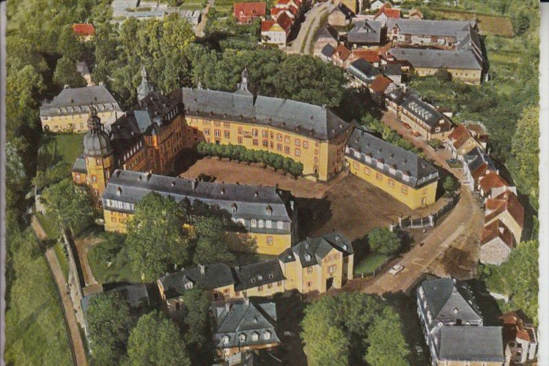 5920 BAD BERLEBURG, Luftaufnahme Fürstliches Schloß 1964 0