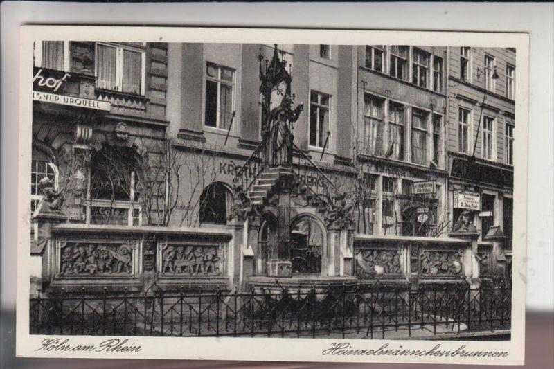 5000 KÖLN, Heinzelmännchenbrunnen 0