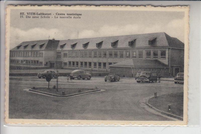 B 4780 ST.VITH, Die neue Schule 0